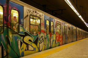 Rome subway... Eeeh, I like!
