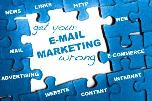 E-mail marketing puzzle